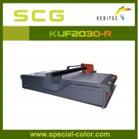 Wholesale UV Flatbed Printer with ricoh 5 print head,print on glass,metal,wood. from china suppliers