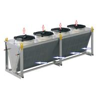 Wholesale Single row liquid to air glycol dry water cooler for outdoor refrigeration from china suppliers