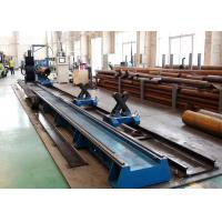 Wholesale CNC4 Flame Plasma Tube Cutting Machine Customized Voltage 200-1400mm Pipe Diameter from china suppliers