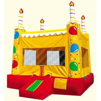 Inflatable Birthday Cake Bounce House Bouncer Of Item 91261388