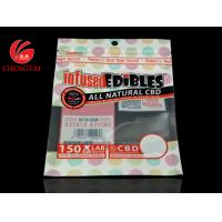 Buy cheap Custom Printing Three Side Seal Bag with Zipper / Food Packaging Zipper Pouch from wholesalers