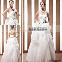 Wholesale backless inflated bride wedding dresses 90031 from china suppliers