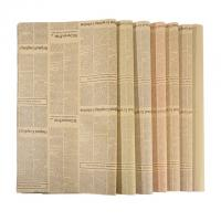 Wholesale Degradable Wrapping Paper Size 50 * 70cm Unbleached Kraft Paper Material from china suppliers