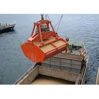 Wholesale Marine Radio Remote Control Grab , Red Color Hydraulic Clamshell Grab from china suppliers