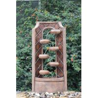 Classical Multi Tiered Outdoor Fountains In Fiberglass / Resin Material