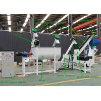 Buy cheap 1 T/H Capacity Feed Pellet Production Line 2 - 12mm Pellet Size Electric Control from wholesalers