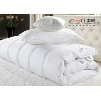 Wholesale ECO Friendly Hotel Mattress Topper Waterproof With Washing Label ZB-MT-11 from china suppliers