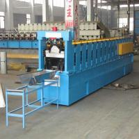 Wholesale K Span Roof Roll Forming Machine Controled by PLC with Cr12 Steel Cutting Blade from china suppliers