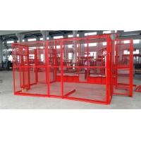 Wholesale Material Construction Site Elevator Cage Hoist , Building Hoist from china suppliers