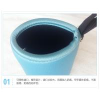 Quality neoprene milk baby glass bottle cooler bag, a small window for checking milk for sale
