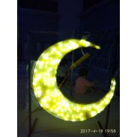 Wholesale ramadan star and moon with led light for ramadan decoration from china suppliers