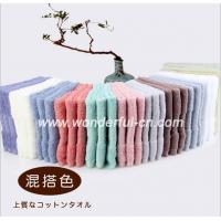 Wholesale Best quality AZO free cotton terry dobby small red wholesale hand towels from china suppliers
