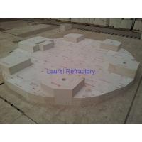 Wholesale Fused Zircon Corundum Refractory Brick Erosion Resistance ISO9001 from china suppliers