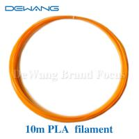 China Orange Recycled Material PLA 3D Printer Filament 1.75mm or custom wholesale