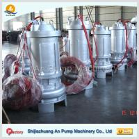 Wholesale waste water treatment submersible sewage pump from china suppliers