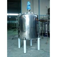 China Thick / Thin Agitator Mixing Tank Adopts Vertical Circular Tanks wholesale