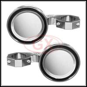 China Maverick billet side aluminum Mirror UTV Universal Offroad Buggy Panoramic mirrors wholesale