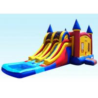 Wholesale 29Ft Dual Lane Inflatable Castle Combo For Kids 29L x 13W x 14H from china suppliers