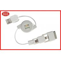 Wholesale Two Way 3 In 1 Retractable USB Cable Custom for Data Transmission from china suppliers
