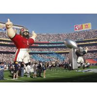 Wholesale Standing Inflatable Cartoon Characters , Sport Colorful Giant Inflatable Replica from china suppliers