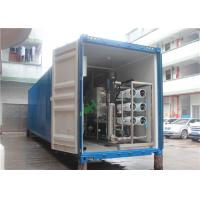 China Containerized RO Water Purifier RO Water Purification With CIP Cleaning System on sale