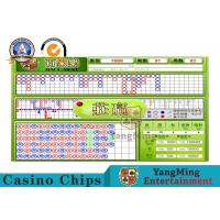 Wholesale Indoor Casino Baccarat Min Max Board Limit Sign With Baccarat System from china suppliers