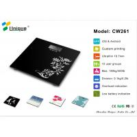 Wholesale CW261A High Precision 180kgs bathroom scale thinner with Strain Gauge Sensors from china suppliers