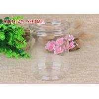 China Food Grade Plastic PET Cans Food Containers Good Barrier Properties on sale