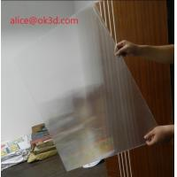 Wholesale OK3D 3d lenticular printing sheets 25 lpi 4mm 3d lenticular sheet lenticular plates materials with lenticular effects from china suppliers