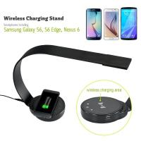 Wholesale New design ABS modern elegant office desk lamp led with QI wireless charge USB port 5 level brightness from china suppliers