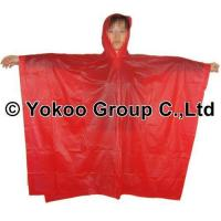 Wholesale cheap disposable poncho from china suppliers