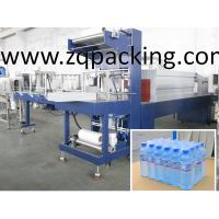 Wholesale Automatic Shrink-Wrapping Packing Machine for bottle/ PE film wrap-shrinking machine/PET bottle packing plant from china suppliers