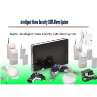 Wholesale Wireless GSM Smart Home Alarm,Intelligent Home Security GSM Alarm System,Burglar alarm system from china suppliers