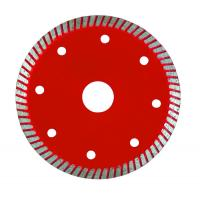 Wholesale Super Thin Turbo Diamond Saw Blade , Diamond Cutting Blades For Tiles from china suppliers