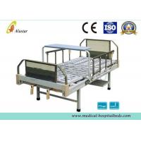 Quality 2 Crank Medical Manual Hospital Beds Steel Frame Head Board (ALS-M236) for sale