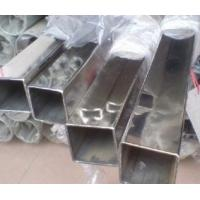 China Well Polished / Hair Line Surface  Round / Square Stainless Steel Welded Tube / Pipe on sale
