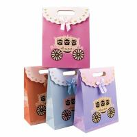Wholesale Cute Colorful Cardboard Bag 230g White Cardboard Material Customized Size from china suppliers