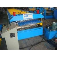 Wholesale AC380 / 50 - 60Hz  Automatic Corrugated Sheet Roll Forming Machine for Colored Steel from china suppliers