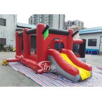 Wholesale Commercial outdoor kids red combos with slide for amusement park from Sino factory from china suppliers