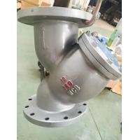 Wholesale ASME B16.34 Stainless Steel y Strainer ASTM A216 WCB Screen SS304,10inch,RF Flanged class 150 from china suppliers