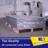 Buy cheap 3D Lenticular sheet 40LPI board 120x240cm, 3.95mm lenticular sheet for 3d and from wholesalers