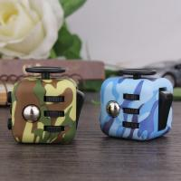 China Stress Relief anti anxiety fidget cube Camouflage Color Series Fashionable Design wholesale