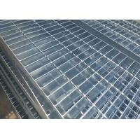 Wholesale Plain Type Walkway Mesh Grating , 25 X 5 / 30 X 3mm Bearing Bar Galvanized Steel Grating from china suppliers