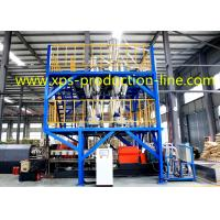 Extruded Styrofoam Sheets Single Screw Extruder 200MM XPS Equipment