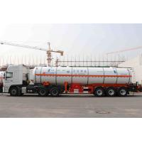 Wholesale Capacity 39500L Three Axles Gas Tanker Truck , Durable Gas Delivery Truck from china suppliers