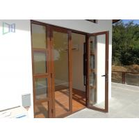 European style aluminium casement door soundproof outswing for European entry doors
