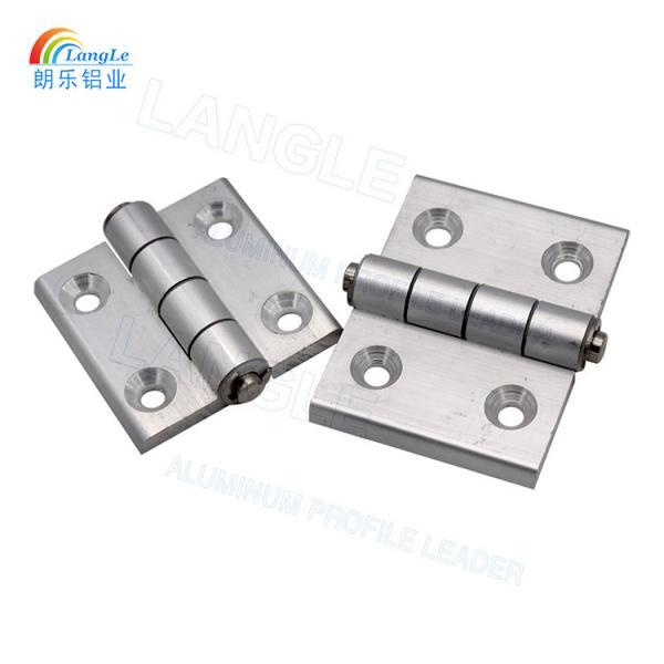 304 Stainless Steel Aluminium Profile Connectors Door Hinges Powder