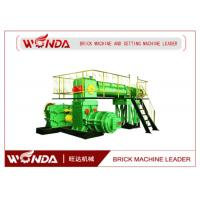 Auto Fired Soil Bricks Manufacturing Machine Clay Brick Extruder Spiral Cut Reamer