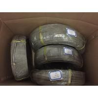 SAE100 R1 4 Braided PTFE Braided Hose for Hydraulic Oil Corrguated Surface