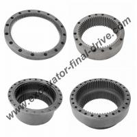 Wholesale Komatsu PC200-6 (6d102) PC200-7 final drive ring gear, travel device gear 20Y-27-22150 from china suppliers